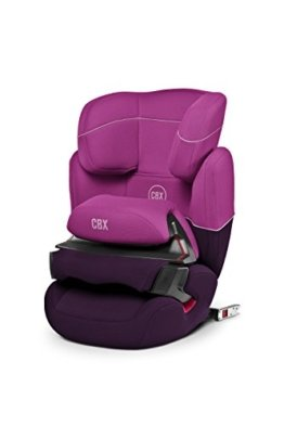 CBX by CYBEX Aura-fix, Autositz Gruppe 1/2/3 (9-36 kg), Kollektion 2015, Purple Rain -
