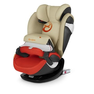 Cybex Gold 518000445 Pallas M-Fix, Autositz Gruppe 1/2/3 (9-36 kg), Kollektion 2018, mit Isofix, autumn gold -