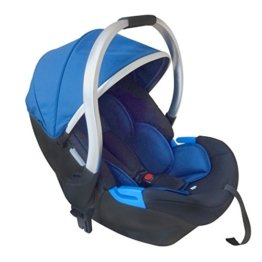 knorr-baby 860670 Babyschale Kinderwagen For You, grau -