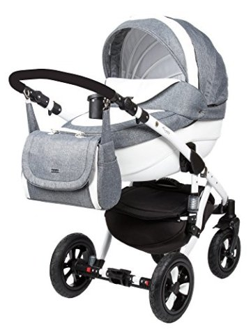 kombi kinderwagen travel system adamex barletta 850s eko leder 2in1 buggy sportwagen www. Black Bedroom Furniture Sets. Home Design Ideas