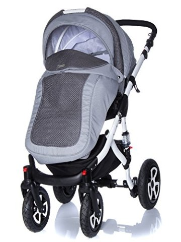 kombi kinderwagen travel system adamex barletta piqu 18 3in1 buggy sportwagen babyschale. Black Bedroom Furniture Sets. Home Design Ideas