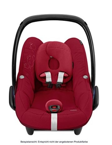 Maxi-Cosi Babyschale Pebble, bis ca. 12 Monate (0-13 kg), black crystal, mit Isofix -