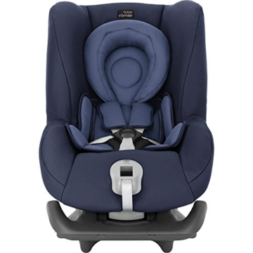 Britax Römer Reboarder Kindersitz 0 - 4 Jahre | 0 - 18 kg | First Class Plus Autositz Gruppe 0+/1 | Moonlight Blue - 3