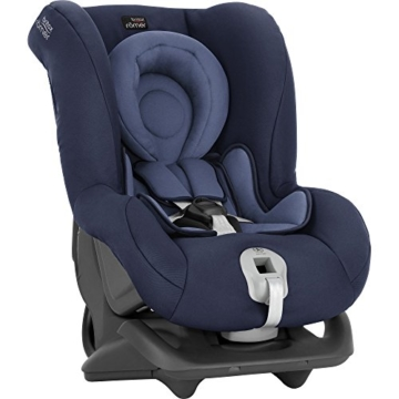 Britax Römer Reboarder Kindersitz 0 - 4 Jahre | 0 - 18 kg | First Class Plus Autositz Gruppe 0+/1 | Moonlight Blue - 6
