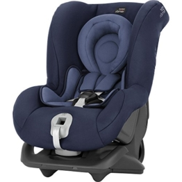 Britax Römer Reboarder Kindersitz 0 - 4 Jahre | 0 - 18 kg | First Class Plus Autositz Gruppe 0+/1 | Moonlight Blue - 1