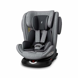 Osann 108-238-279 ENO360° Kinderautositz Gruppe 0+/1/2/3 (0-36 Kg) Light Grey Melange - 1