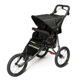 Out N About Nipper Sport V4 Buggy Rabenschwarz - 1